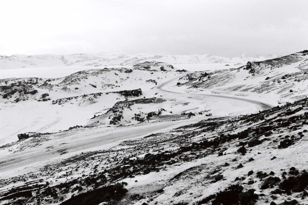 Islande B&W 3
