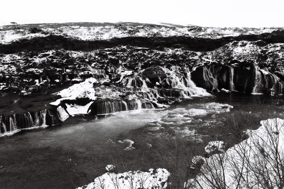 Islande B&W 9